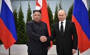 Эксперт рассказал о встрече Владимира Путина и Ким Чен Ына