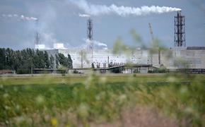 При повышении температуры воздуха в Армянске возможен  выброс химических веществ с завода «Титановые инвестиции»
