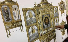 В Сретенских мастерских завершается работа над центральной иконой Главного храма Вооруженных Сил РФ
