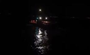 Кличко показал видео своего спасения с горящей яхты