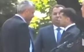 Министр обороны Украины заявил, что не толкался с Зеленским