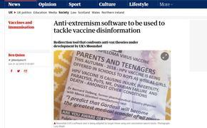 В Британии экстремистам начали рекламировать антирадикализм