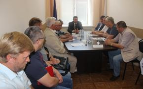 Встреча с министром Димитрием Маслодудовым