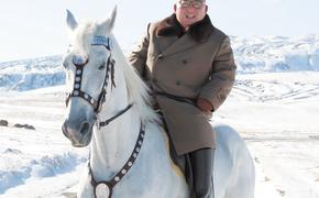 Ким Чен Ын сел на лошадь, как Путин