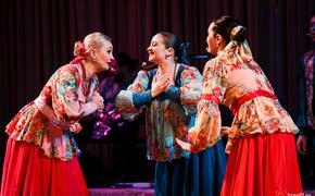 Поёт и танцует Енисейская Сибирь!
