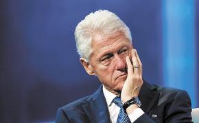 Билл Клинтон снова погорел на девушках