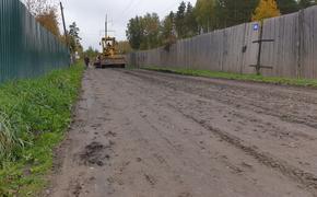 Союз садоводов продолжает программу грейдирования в Первомайском районе