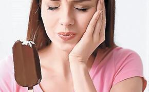 Сладкое и горячее может разрушить зубы