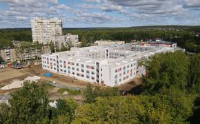 Новый корпус школы «СинТез» в Перми строится с опережением графика