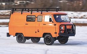 Новую модель УАЗ оснастили кондиционером